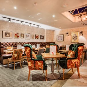 Bar Dining at Three Swans Hungerford
